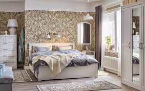 traditional bedroom furniture designs. Bedroom Furniture Ideas Ikea Blue And White Traditional Beige Floral Wall Paper Songesand Bed Dec Full Designs G