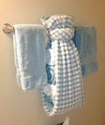 How do people hang their bath towels Quora