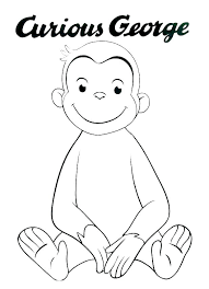 curious george pictures to color g8197 free curious coloring pages curious color pictures free coloring pages