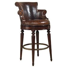 leather bar stools with backs. Furniture,The Best Beautiful Leather Swivel Bar Stool With Back Design And Cool Arm Also Soft Pad For Classy Concept,Antique Stools Backs