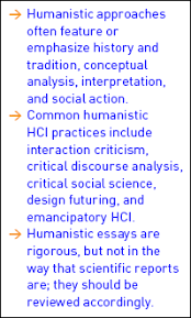 acm digital library interactions another value of humanistic writing is innovation on the form of academic writing to make a point more on that later