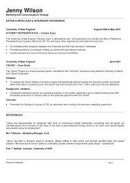 Resume For Marketing Marketing And Communications Resume New Grad Entry Level 23
