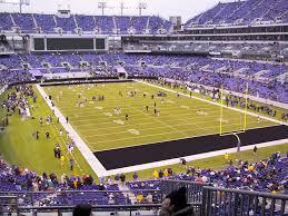 Ravens Stadium Interactive Seating Chart M T Bank Stadium View From Club Level 243 Vivid Seats