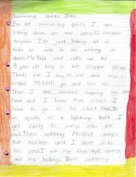 Swimming Memoir Writing Examples Memoir Writing Narrative