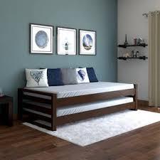 kids bunk bed. Yuri Stackable Bed (Dark Walnut Finish) By Urban Ladder Kids Bunk