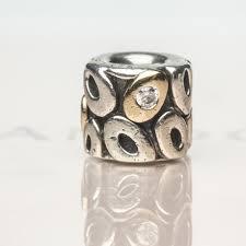 pandora sterling silver 14k gold oh my 790431cz