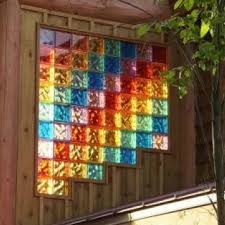 5 hot projects with colored glass block windows walls showers