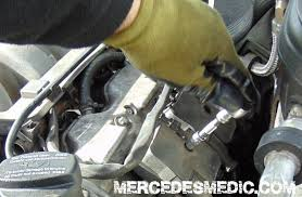 diy how to change spark plugs yourself mercedes benz mb medic spark plug coil misfire location