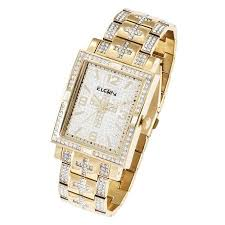 cheap elgin quartz watch elgin quartz watch deals on line at get quotations · elgin men s oversized glitz cross watch