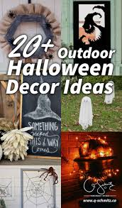 Looking for outdoor Halloween dcor ideas to start planning your decorations  this year? I'