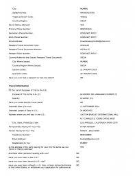 ds sample form collegepond ds 160 form 2