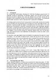 Executive Summary South Tarawa Desalination Feasibility Study Executive