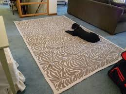 diy area rug from fabric