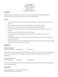 Forklift Operator Resume Examples Forklift Resume Sample Machine