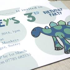moo invitations personalised dinosaur childrens party invitations by molly moo