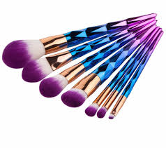 unicorn makeup brushes uses. these affordable makeup brushes are almost too pretty to use unicorn uses r