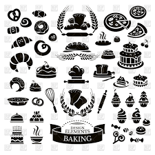 Set Of Bakery Icons Vector Image Of Food And Beverages Selenamay