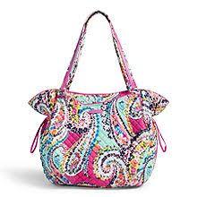 Tote Bags for Women - Bags | Vera Bradley & Iconic Glenna Tote Adamdwight.com