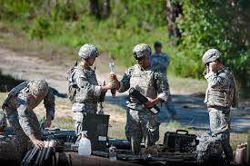 u s department of > photos > photo essays > essay view hi res photo gallery acircmiddot army officers prepare mortar