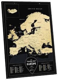 <b>1DEA</b>.<b>me Скретч Карта</b> Европы Black — купить по выгодной цене ...