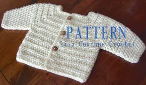 Free Crochet Baby Sweater Patterns Simple Easy Crochet Baby Sweater Pattern Free Crochet And Knit