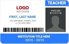 info School – Word For Free Best Professors Template Download Ksck Teachers Templates Teacher Id Card Ms