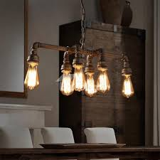 industrial style dining room lighting. Artistic Dining Room Design: Astounding 30 Ways To Create A Trendy Industrial Of Style Lighting E