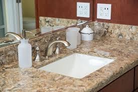 contemporary master bathroom with complex granite counters undermount sink betularie granite countertop arizona