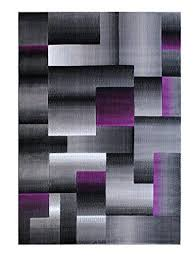 masada rugs modern contemporary area rug purple grey black