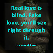 Love Is Fake Quotes