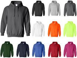 18500 Gildan Heavy Blend Adult Hooded Sweatshirt Fleece Pullover Hoodie 12 Colors Available 5080