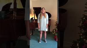 Allison Mather singing 16 bars of Someday from The Wedding Singer - YouTube