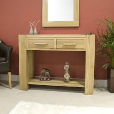 oak console tables oak hall tables. Pemberton Solid Modern Oak Hallway Furniture Console Hall Tables E