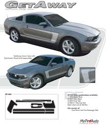 2012 Mustang Color Chart Details About Mustang C Stripe Boss Side 3m Pro Grade Vinyl Decals Graphics 2010 2012 Mustang
