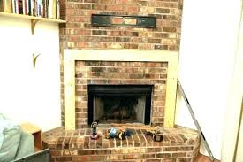 build a mantel post build your own mantel clock diy mantel on brick fireplace