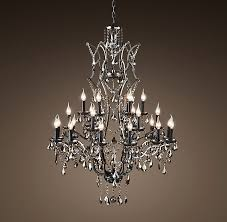 rococo iron and crystal chandelier luxury rococo iron and crystal chandelier image