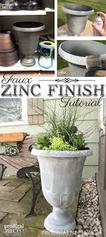 Zinc Finish Furniture Faux Zinc Finish With Paint Prodigal Pieces