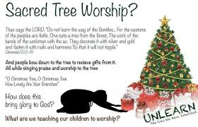Answers To A Is A Christmas Tree Pagan
