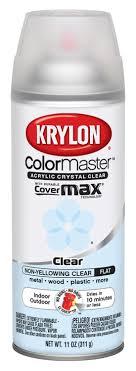 Amazon Com Krylon 51313 Satin Finish Crystal Clear Interior And