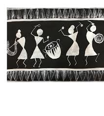 Buy Warli Painting Painting At Lowest Price By Pooja Lokhande