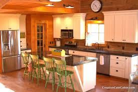 Rustic Cabin Kitchen Rustic Cabin Kitchen Cabinets Monsterlune