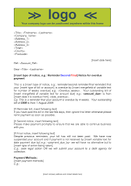 collections letter template for business image collections