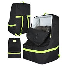 padded car seat travel bag for