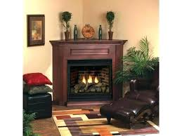 gas fireplace vented in wall
