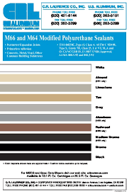 Crl M66 Textured Polyurethane Construction Sealant