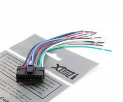 wire harness for sony xav 72bt xav72bt pay today ships today xtenzi radio wire harness for sony xav 63 xav 64bt xav