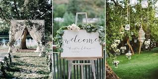 40 Brilliant Garden Wedding Decoration Ideas For 40 Trends Simple Garden Wedding Reception Ideas Design