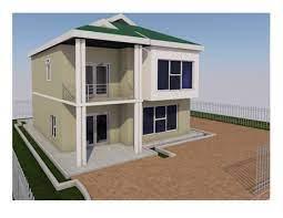 maisonette house plan in kenya 4