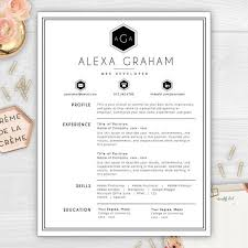 Make Your Résumé Stand Out With A Beautiful Monogram Résumé Template Best How To Make My Resume Stand Out