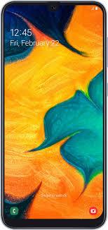Смартфон Samsung Galaxy A30 64 GB, белый — купить в ...